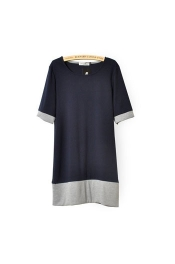 Euro Monki Sweat Dress Summer Office Casual Dress