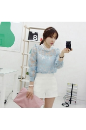 Korean Summer New Style Lace Tops