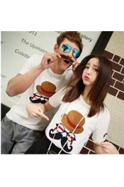 Korean Summer Couple Set Casual Tops