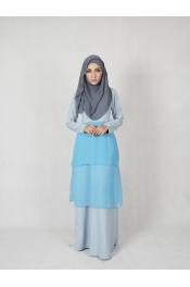 Ruka Chiffon Jubah Dress
