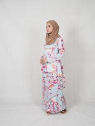 leofar Fishtail Printed Baju kurung