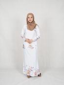 Seya Floral Printed Baju kurung