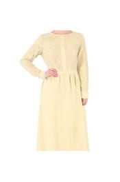 Muslim Lace Modern Style Jubah Dress