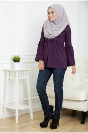 Muslim Jubah Dress Classic School Design Button Top
