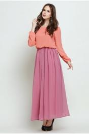 Jubah Dress 2 Layer Design Casual Dress Muslimah