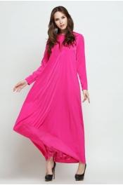 Muslimah Classic Jubah Dress Pleated Design
