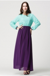 Muslim Jubah 2 Color Classic Design Style Dress