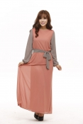 Muslim Chiffon Classic Jubah Dress
