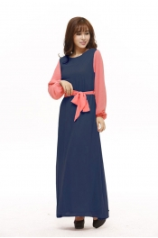 Annika Jubah Dress With Ribbon