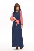 Annika Jubah Dress With Ribbon