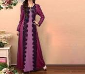 Muslim Lace Pattern Casual Dress Indo Jubah Hijab abaya