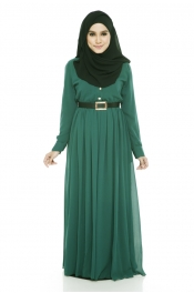 Muslim Classic Design Promt Night party Maxi Dress