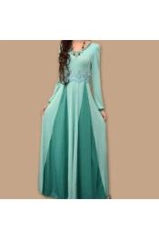 Muslim Jubah New Modern Dress 2 Tone Color