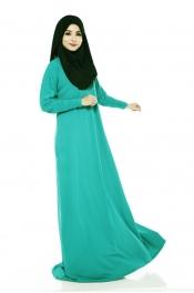 Darina Jubah Dress Emerald Green (Collection)