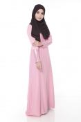 Darita Bling Pink Jubah Dress