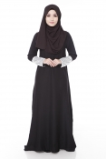 Darita Bling Black Moon Jubah Dress