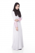 Darita Bling Grey Jubah Dress