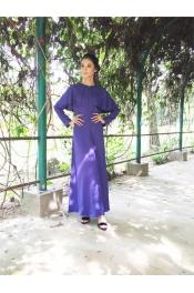 Ania Dark Blue Jubah Dress