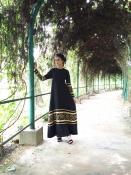 Aikar Gold Curve Jubah Dress