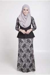 Akina Peplum Baju Kurung Exclusive - Brand (HD)