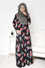 Rosita Rose Jubah Dress