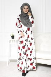 Rosita Rose Jubah Dress