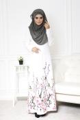 Shika Zawa Jubah Dress