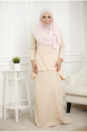 Louisha Pearl Fishtail Ribbon Baju Kurung (Modern)