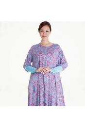 Muslim New Flora Casual Modern Dress