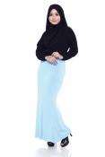 Muslim Pleated Casual Skirts
