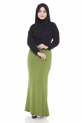 Muslim Pleated Casual Skirts