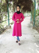 Jets Red Exclusive Blouse Tunic Kurti