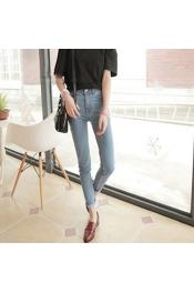 Korean Summer & Spring Retro Skinny Casual Jeans