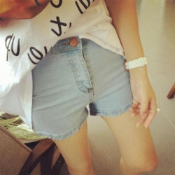 KoreaN Retro Summer Short Jeans