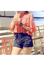 Korean Summer & Spring Retro Short Jeans