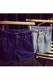 Korean Summer Short Pants Retro Style