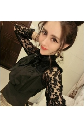 Korean Summer New Style Street Lace Tops