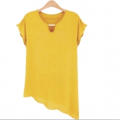 Korean Summer Plus Size Tops Casual Wear