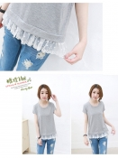 Korean Summer Lace Tops