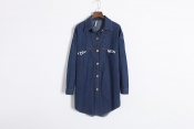 Korean Summer New York Skatel Jean Tops Jacket Exclusive