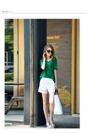 Korean Summer Exclusive Casual Tops+Pants