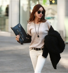 Korean Summer Long Sleeve Tops
