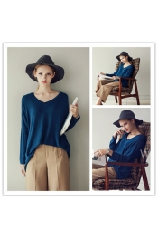 Europe Autumn Casual Long Sleeve Top
